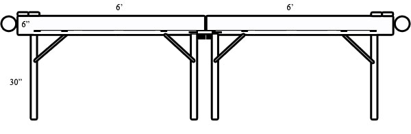 Carpet Ball Table Plans Side View